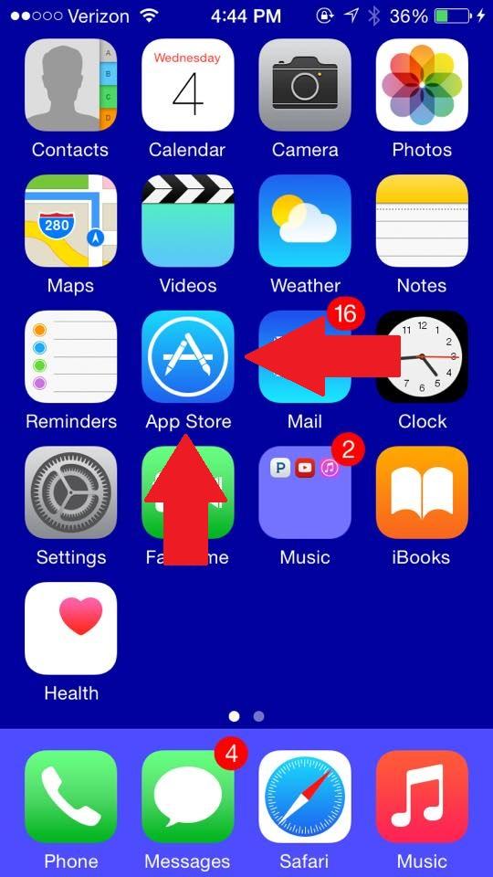 Step 1 App Download