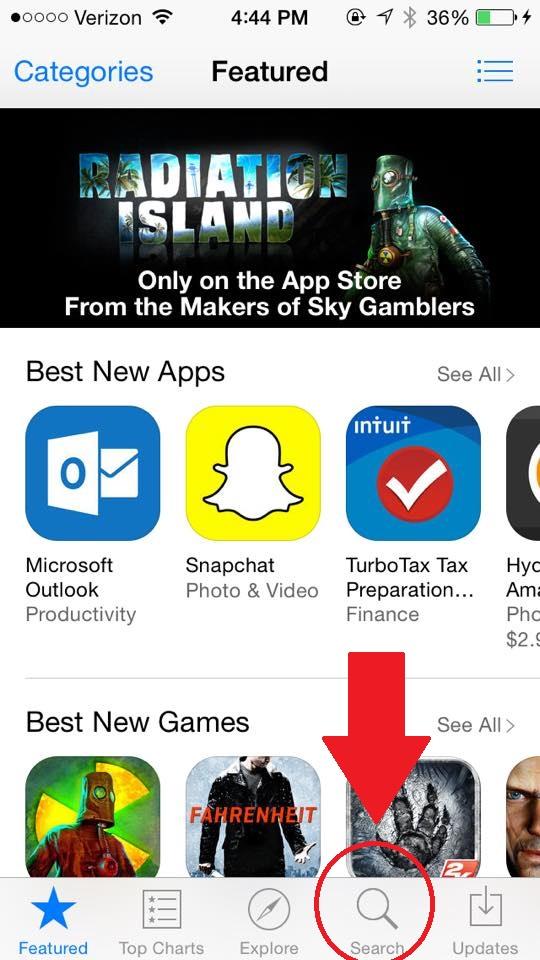 Step 2 App Download